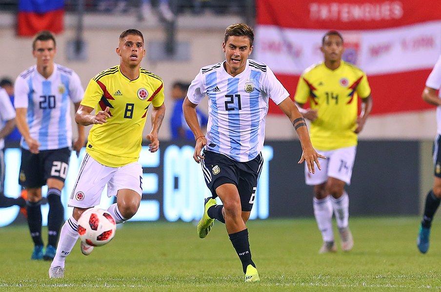 メッシも監督もいないけれど――。失意のアルゼンチン代表が再出発。<Number Web> photograph by Uniphoto press