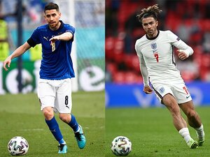 """EUROに見る「最新のMFトレンド」 イタリアやイングランドの""""伝統スタイル脱却""""と田中碧の覚醒に共通するものとは"""