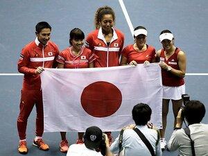 日本がワールドグループ2部復帰!3カ国代表・大坂なおみのスケール感。