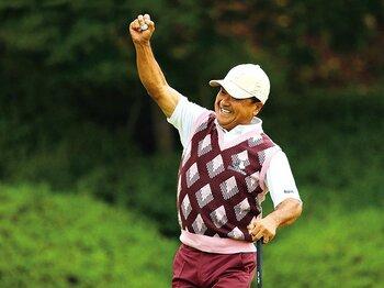 """日本シニアオープンに漂う""""人間臭さ""""の魅力。~倉本の優勝とニクラウスの至言~<Number Web> photograph by Taku Miyamoto"""