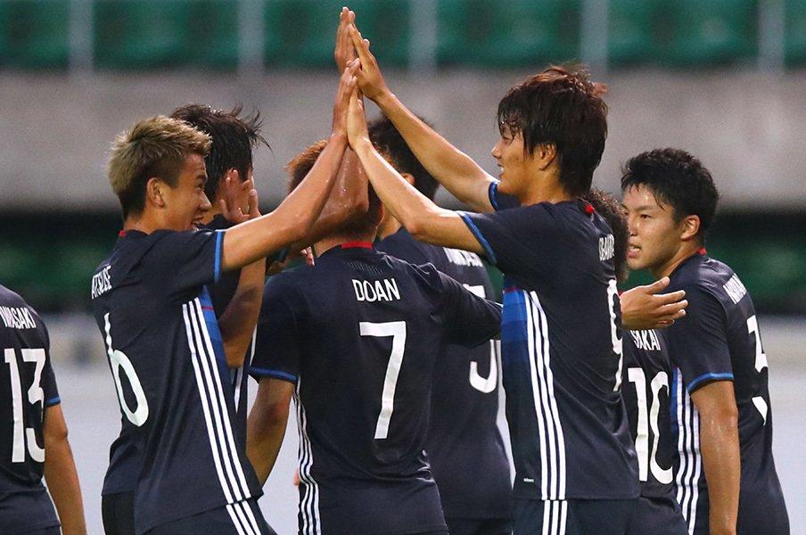 「タイミングがズレる」U-20の不安。必要なのは、サッカーを楽しむ自信。<Number Web> photograph by AFLO