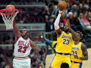 """バスケ界の重すぎる称号""""ネクスト・ジョーダン""""に消えた天才たち…なぜレブロンは「23」のプレッシャーに勝てた?"""