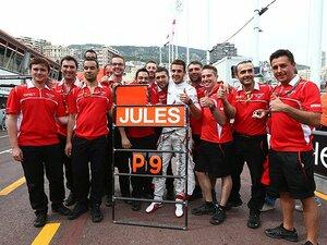 伝統のモナコGPのもうひとりの勝者。マルシア、5年目の初入賞の立役者。
