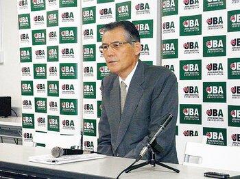 深津泰彦・JBA会長は引責辞任。今後、制裁下で光明を見出せるか。