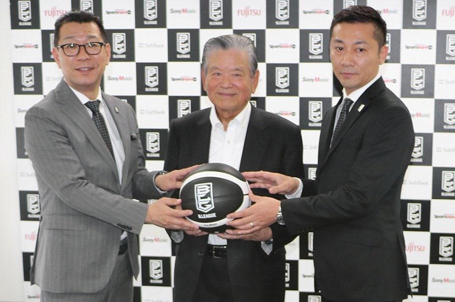 Bリーグ副理事長とクラブ社長の両立。千葉・島田慎二代表が語る改革とは。<Number Web> photograph by Kyodo News