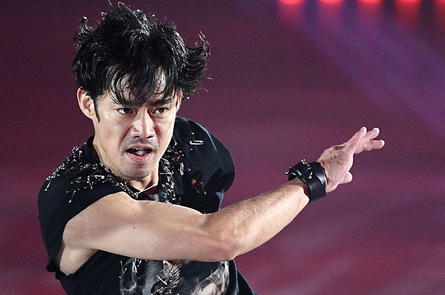 高橋大輔のスケーターとしての核。「生涯、滑っていたいですよね」<Number Web> photograph by Kyodo News