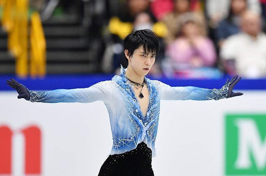 SP3位羽生結弦「しっかりやりきる」宇野昌磨は6位から巻き返しを誓う。<Number Web> photograph by AFLO