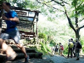 鎌倉のトレイルラン騒動を徹底追跡。ランナーと非ランナー、共存の道は?<Number Web> photograph by Mami Yamada