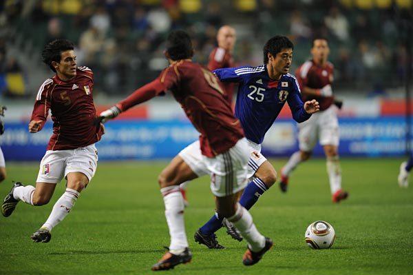 日本vs.ベネズエラ