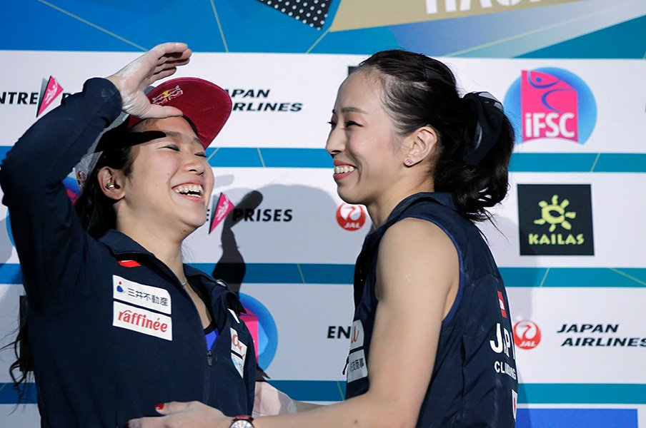 """2400人が目撃。ボルダリングW杯で""""チームJAPAN""""が起こしたドラマ。<Number Web> photograph by Atsushi Hashimoto"""
