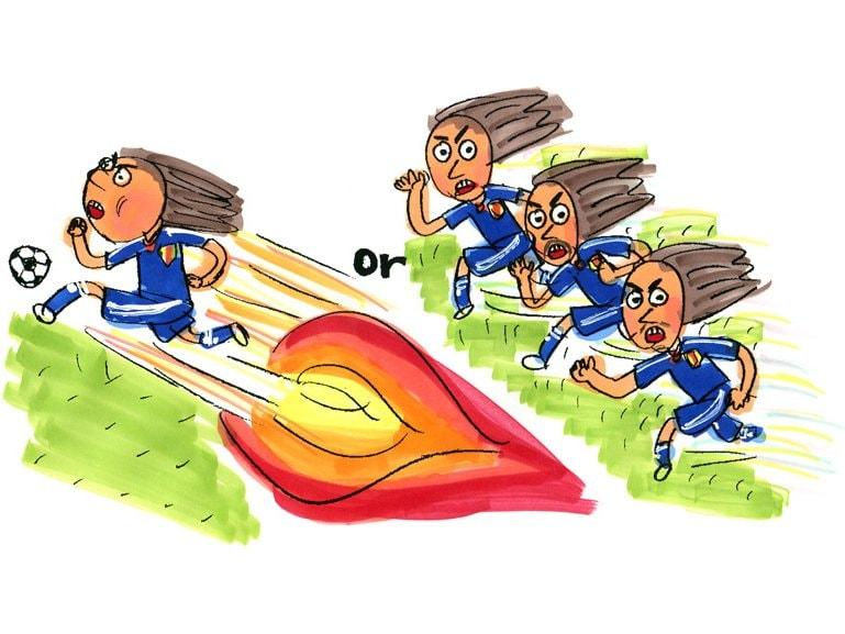 堅守速攻のサッカーを極めていくべき