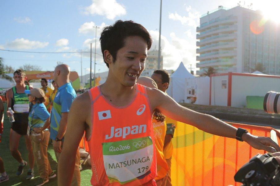 日本競歩、初入賞は悔しさと共に。松永大介が4年後のメダルを宣言。<Number Web> photograph by JMPA