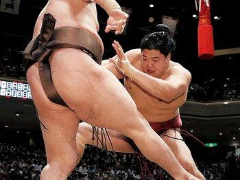 溌剌とした相撲と無邪気さで、夏場所を大いに沸かせた阿炎。~相撲界では珍しいビッグマウスも注目~<Number Web> photograph by KYODO