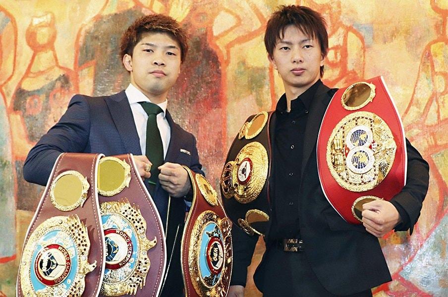 早くも2019年のベストバウト候補。田中恒成と田口良一がついに決戦。<Number Web> photograph by Kyodo News