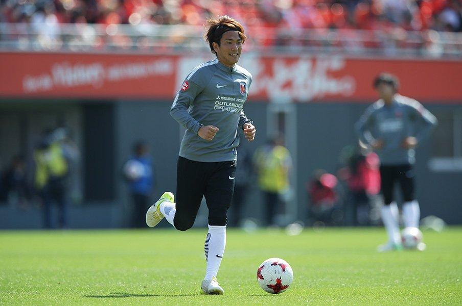 矢島慎也、浦和で出場はまだ5分...