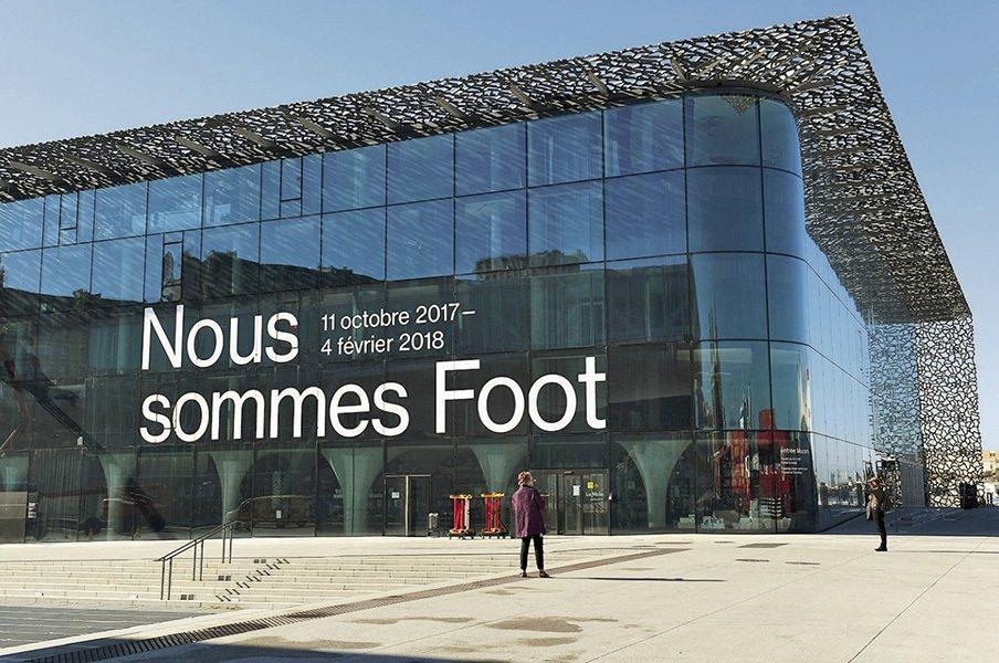 仏の人気博物館がサッカーの展覧会。それは政治、経済、芸術、人生である。<Number Web> photograph by Alain Mounic