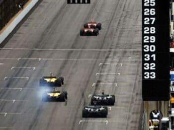 閑寂としたレース、これはF1と呼べない。<Number Web> photograph by Hiroshi Kaneko