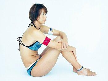 <私とカラダづくり> 浦田聖子 「強く、正しく、美しく」<Number Web> photograph by Kiyoaki Sasahara
