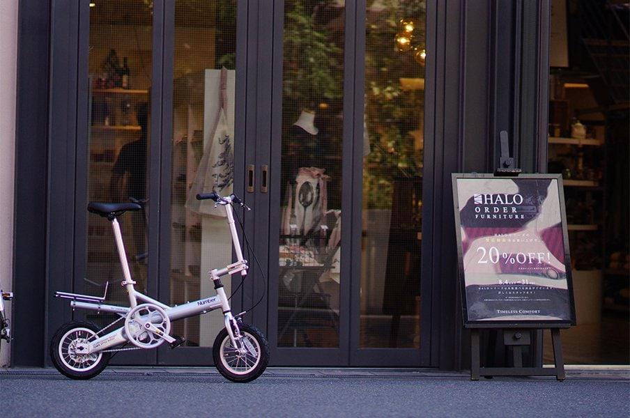 Numberコラボの異色折り畳み自転車。毎日が楽しくなる、お得な使い方とは?<Number Web> photograph by SAKAI CYCLE