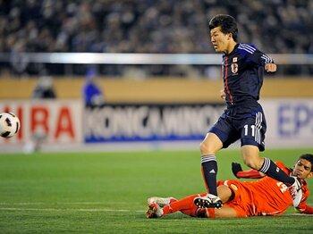 W杯最終予選に必要な最後の一枚。永井謙佑はジョーカーたり得るか?<Number Web> photograph by Takuya Sugiyama