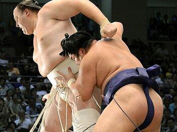 """""""叩き上げ""""の減少で、勢力を伸ばす大卒力士。~角界は""""就職先""""のひとつに!?~<Number Web> photograph by KYODO"""