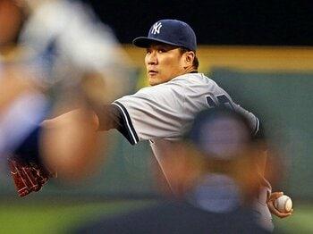 田中、ダルビッシュ、岩隈、松坂。4人の日米成績比較から見えるもの。<Number Web> photograph by Getty Images