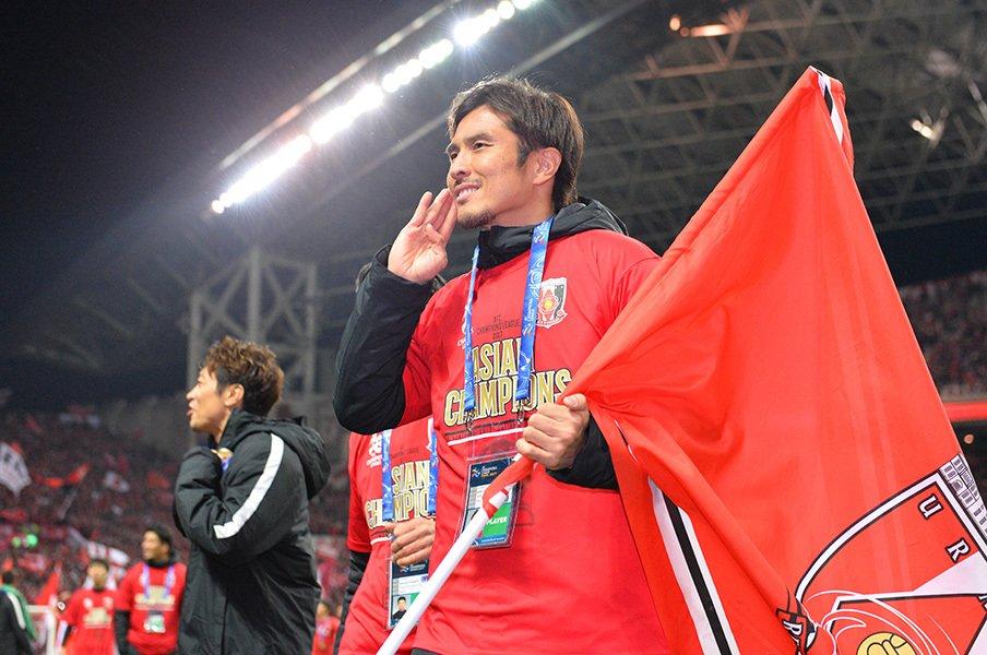 浦和を愛し、浦和に愛された男。那須大亮の幸福な5年間と旅立ち。<Number Web> photograph by J.LEAGUE PHOTOS