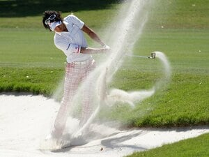 大地震に直面する日本に向けて……。石川遼はゴルフを通じて希望を届ける。