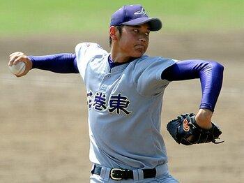 準決勝での球速160kmは、寺原隼人を越え高校生記録だ。