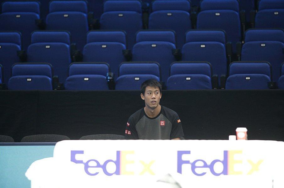 錦織圭が検査官に半ギレしたことも。テニス界のあまりに過酷な薬物検査。<Number Web> photograph by Hiromasa Mano