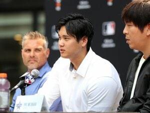 「二刀流をファンも見たい、そして個人的にも見たい」 大谷翔平の「DH・投手」特例を実現させた