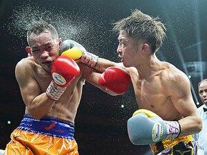 井上尚弥の左フックを読み切った、世界最高のボクシングカメラマン。