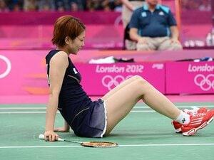北京で泣き顔、ロンドンで笑顔――。潮田玲子が負けてなお爽やかな理由。