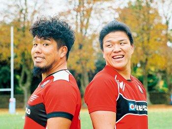 ラグビーW杯、過密日程、主将論。堀江翔太と立川理道が語り尽くす。<Number Web> photograph by Tomoki Momozono