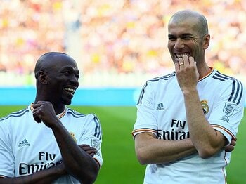 規律、努力、そして攻撃サッカー?ジダンがレアルBの監督に就任!<Number Web> photograph by Getty Images