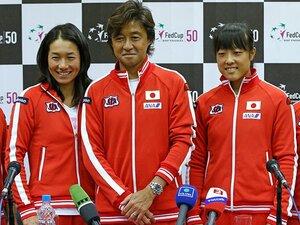 森田、伊達の「二枚看板」に明暗。女子テニスフェド杯、激闘の教訓。