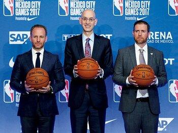 メキシコに新チーム設立!? 新たなマーケットの開拓へ。~NBAが拡大先として目をつけた、近くて人口の多い国~<Number Web> photograph by Getty Images