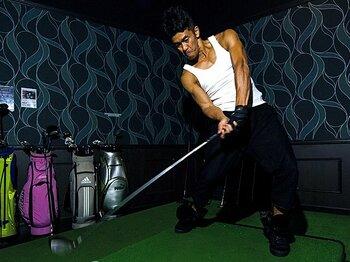 <あのアスリートタレントが激白!> 武井壮 「ゴルフは実は一番難しいスポーツだ」<Number Web> photograph by Takuya Sugiyama