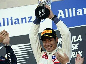 世界中が可夢偉の離脱に「ノー!」。F1界はスポーツからビジネスへ。<Number Web> photograph by Hiroshi Kaneko
