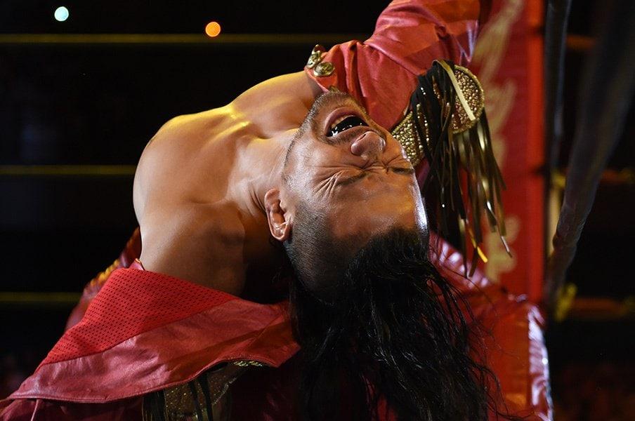 世界が注目する1.4AJスタイルズ戦!中邑真輔は、ありのままの姿で闘う。<Number Web> photograph by Essei Hara