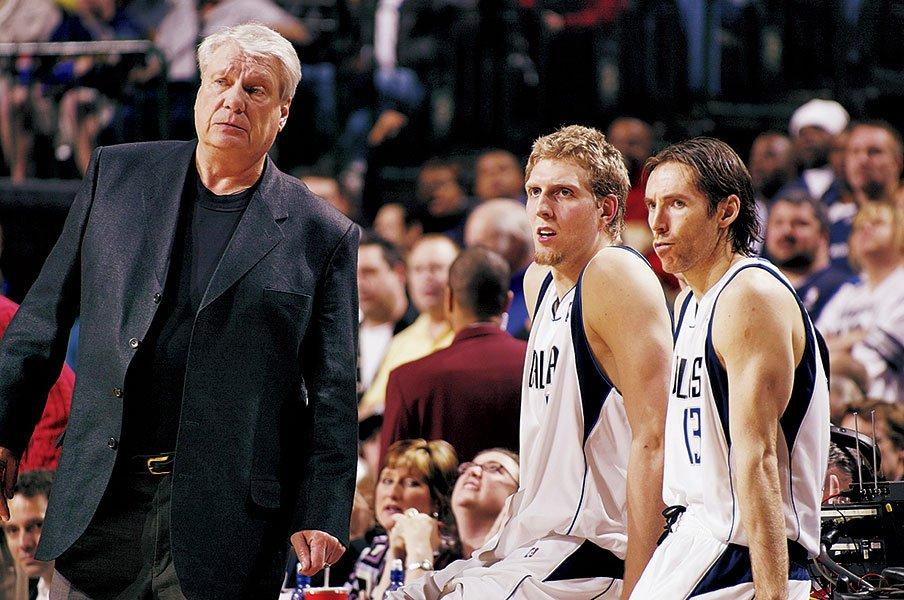 ナッシュ&ノビツキーの再来か!?マブズが新コンビに馳せる思い。~チームを20年支える2人になるか~<Number Web> photograph by Getty Images
