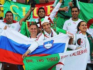 32カ国中唯一のイスラム国家チーム、アルジェリア代表の狂乱を見よ!