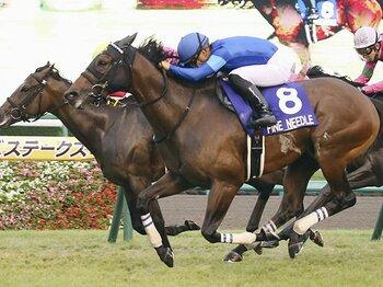 史上初の年間スプリント重賞4勝!ファインニードルの絶対王者ぶり。<Number Web> photograph by Kyodo News
