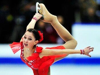 ソ連時代のフィギュア王国復活へ!ロシアのソチ五輪金メダルへの道。<Number Web> photograph by AFLO
