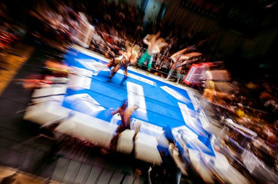 「プロレス総選挙 THE FINAL」第3次速報。投票2.5万人突破、あの逸材がトップを猛追!<Number Web> photograph by Sports Graphic Number