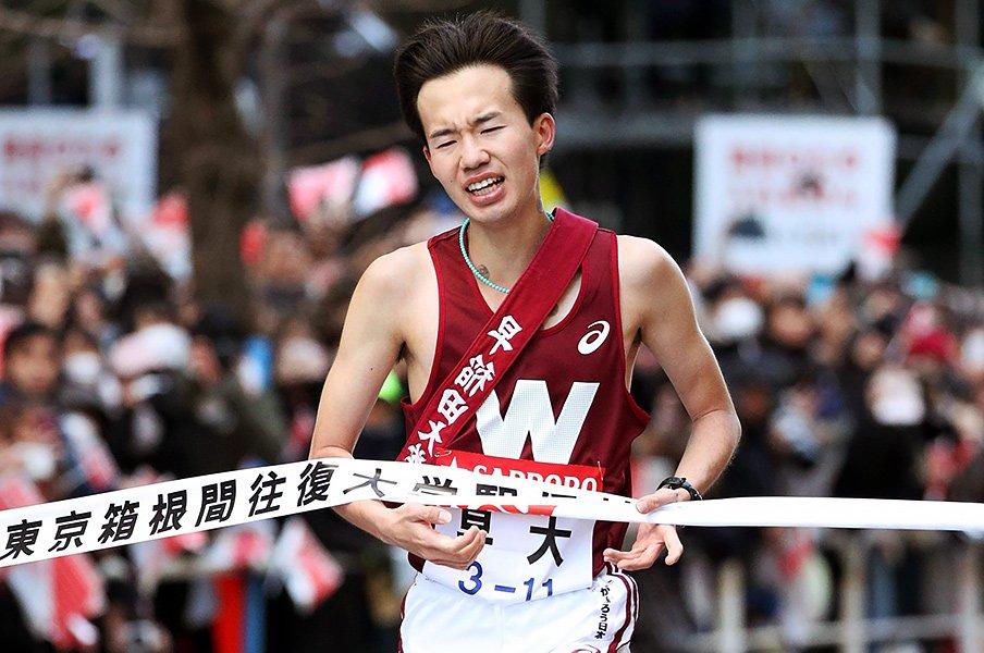 2022年の箱根は早稲田、明治、中央?1年生のタイムが示す「古豪復活」。<Number Web> photograph by Kyodo News