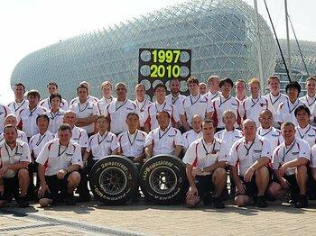 F1を足元から支えたブリヂストンの14年。~242戦175勝の称えるべき功績~<Number Web> photograph by Hiroshi Kaneko
