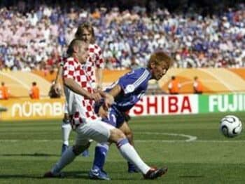 2006年 ドイツW杯 グループF VS.クロアチア<Number Web> photograph by Naoya Sanuki