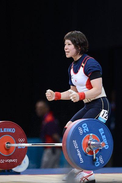 三宅宏実、日本新で銀メダル獲得。~ロンドン五輪2012~