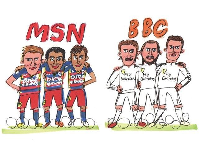 BBC(レアル・マドリー)